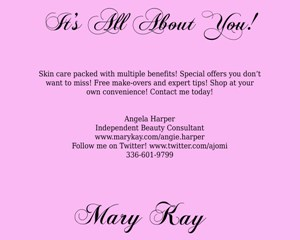 Angela Harper - Mary Kay Consultant
