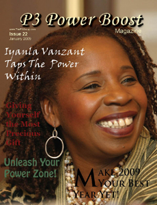 The P3 Power Boost Magazine - Volume III - Issue 1 - January 2009